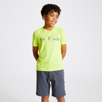 Dare 2b - Kids' Rightful Graphic T-Shirt Lime Punch Green