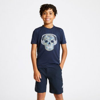 Dare 2b - Kids' Rightful Graphic T-Shirt Outerspace Blue