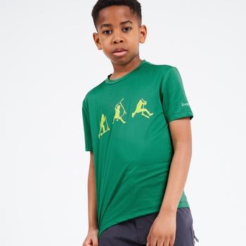 Dziecięca koszulka Righful Dare2B zielona