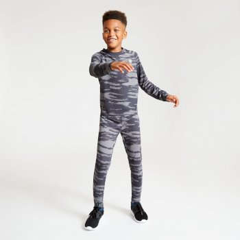 Dare 2b - Kids' Partition Base Layer Set Ebony