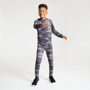 Dare 2b - Kids' Partition Base Layer Set Ebony
