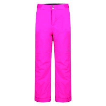 Kids Take On Ski Pants Cyber Pink