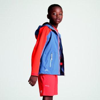 Dziecięca wodoodporna kurtka z kapturem Avail Seamsmart Niebieska