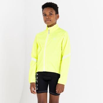 Dare 2b - Kids' Cordial Waterproof Shell Jacket Fluro Yellow