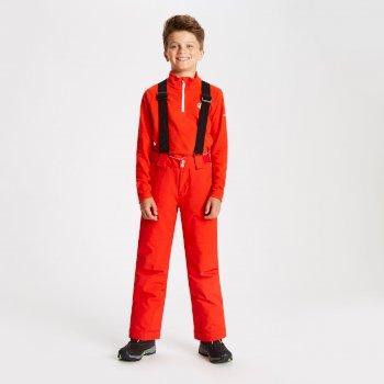 Kids' Outmove Ski Pants Fiery Red