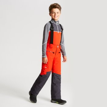Dare 2b - Kids' Timeout Ski Pants Fiery Red Ebony
