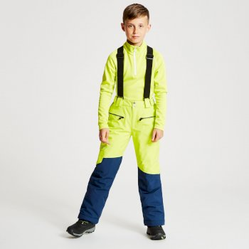 Dare 2b - Kids' Timeout Ski Pants Citron Lime Admiral Blue