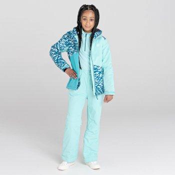 Dziecięce spodnie narciarskie Dare2B Motive niebieskie
