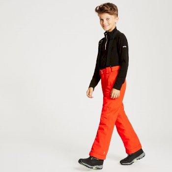 Kids' Motive Ski Pants Fiery Red