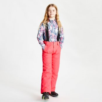 Dare 2b - Kids' Motive Waterproof Insulated Ski Pants Neon Pink