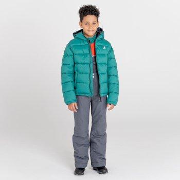 Dziecięce spodnie narciarskie Dare2B Motive szare
