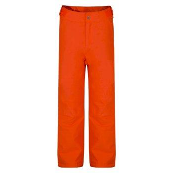 Kids' Delve Ski Pants Vibrant Orange