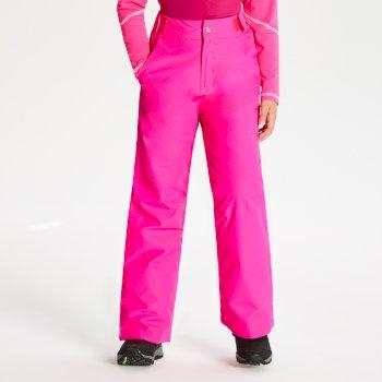Kids' Delve Ski Pants Cyber Pink