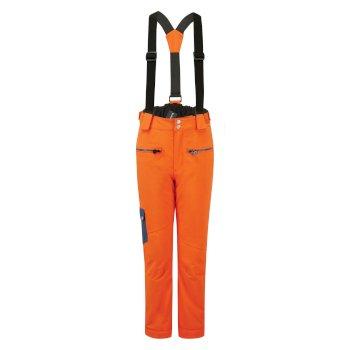Dziecięce spodnie narciarskie Dare2B Timeout II pomarańczowe