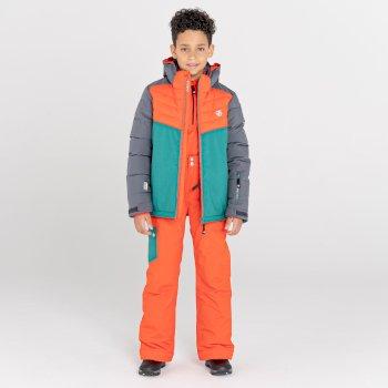 Dare 2b - Kids' Timeout II Waterproof Insulated Ski Pants Amber Glow Alpine Forest