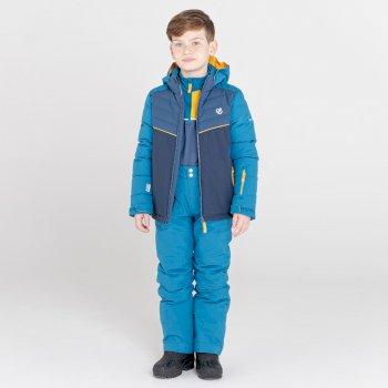 Dziecięce spodnie narciarskie Dare2B Outmove II niebieskie