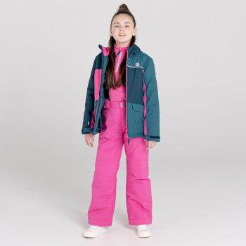 Dziecięce spodnie narciarskie Dare2B Outmove II różowe