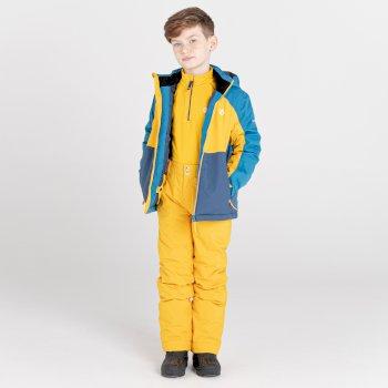 Dziecięce spodnie narciarskie Dare2B Outmove II żółte