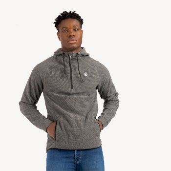 Dare 2b - Men's Forgo Half Zip Hooded Fleece Aluminium Grey