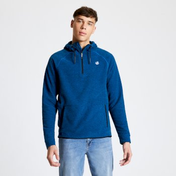 Dare 2b - Men's Forgo Half Zip Hooded Fleece Athletic Blue