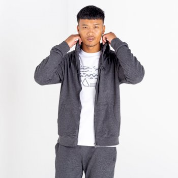 Dare 2b - Men's Modulus Full Zip Hoodie Charcoal Grey Marl