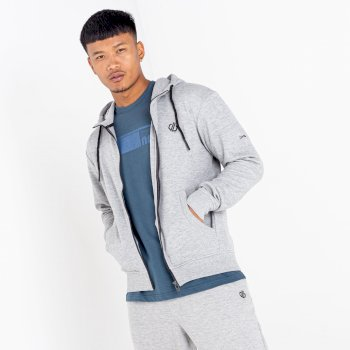 Dare 2b - Men's Modulus Full Zip Hoodie Ash Grey Marl