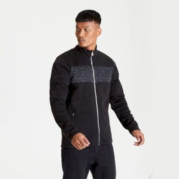 Dare 2b - Men's Inclose Full Zip Fleece Sweatshirt Black