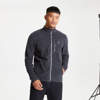 Dare 2b - Men's Foretold II Full Zip Marl Fleece Black