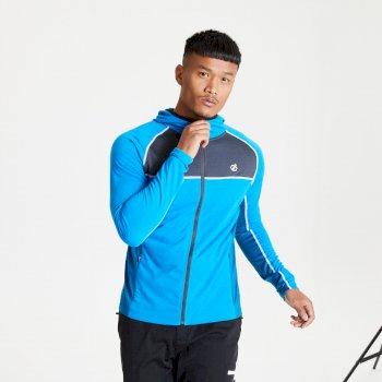 Męska bluza z kapturem Dare2B Perennial niebieska