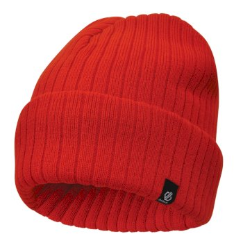 Dare 2b - Men's On The Ball Beanie Hat Fiery Red