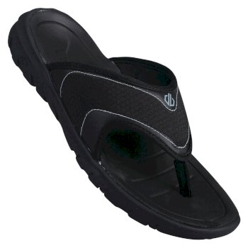 Dare 2b - Men's Xiro Lightweight Mesh Flip Flops Black Gravity Grey