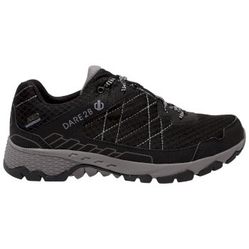 Dare 2b - Men's Viper Walking Shoes Black Aluminium Grey