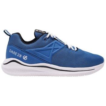 Męskie lekkie buty sportowe Plyo Dare2B granatowo-białe