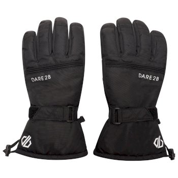 Men's Worthy Ski Gloves Black