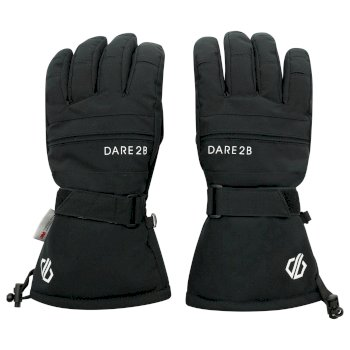 Dare 2b - Men's Hold On II Waterproof Insulated Ski Gloves Black