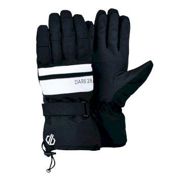 Dare 2b - Men's Hold On II Waterproof Insulated Ski Gloves Black White