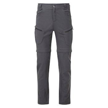 Męskie spodnie z odpinaną nogawką Tuned In II szare