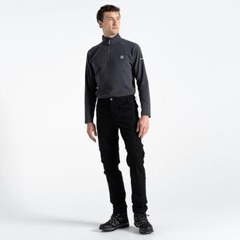 Dare 2b - Men's Tuned In II Multi Pocket Zip Off Walking Trousers Black