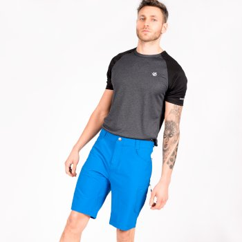 Dare 2b - Men's Tuned In II Multi Pocket Walking Shorts Athletic Blue