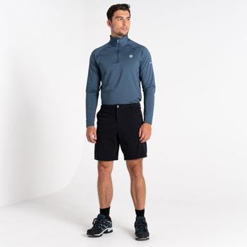 Męskie spodnie trekkingowe Dare2B Tuned In II czarne