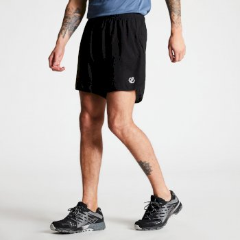 Men's Microtech Lightweight Two Layer Shorts Black