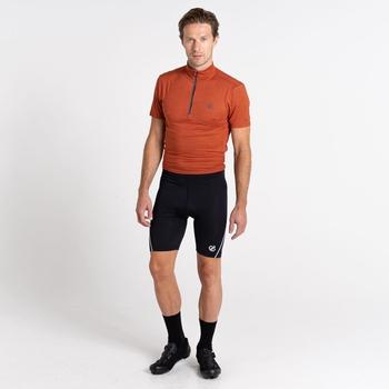 Men's Bold Cycle Shorts Black White