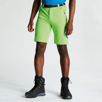 Men's Disport Lightweight Multi Pocket Shorts Jasmine Green