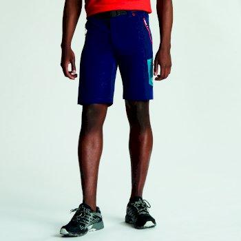 Men's Disport Lightweight Multi Pocket Shorts Clear Water Blue