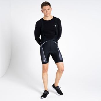 Dare 2b - Men's Ecliptic Lightweight Bibbed Gel Cycling Shorts Black
