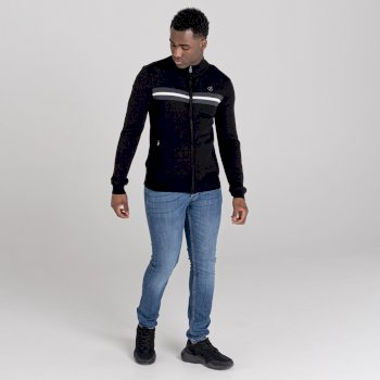 Men's Dutiful Full Zip Sweater  Black