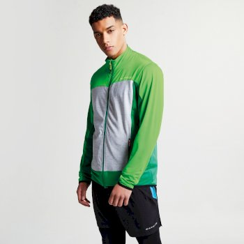 Men s Correlate Core Stretch Midlayer Jacket Highland Green Fairway Green a853ffd6a
