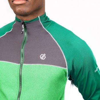 Męska bluza termoaktywna Dare2B Ratified II zielono-czarna