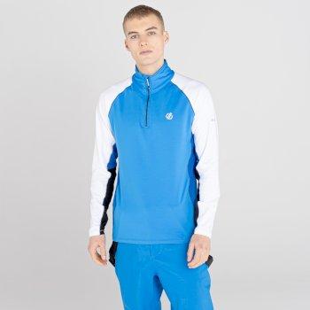 Męska bluza termoaktywna Dare2B Interfused II niebieska