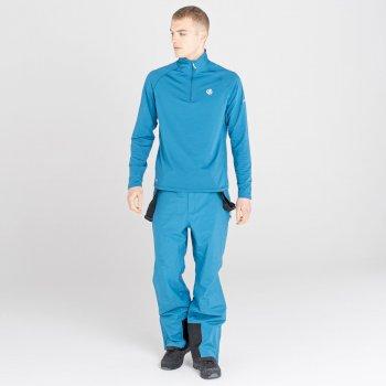 Męska bluza termoaktywna Dare2B Fuse Up II niebieska